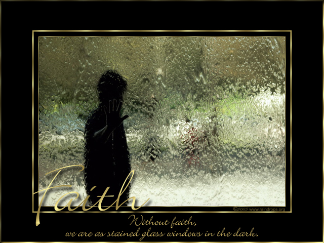 Raindrops Inspirational E Cards